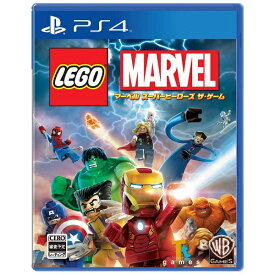 ワーナーブラザースジャパン Warner Bros. LEGO(R)マーベル スーパー・ヒーローズ ザ・ゲーム【PS4ゲームソフト】