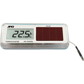 A&D エー・アンド・デイ ソーラー温度計 AD5656SL