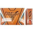 朝日ゴルフ用品 ASAHI GOLF 【ビックカメラグループオリジナル】【公認球】ゴルフボール Tour-Z. HYPER-DRIVE -TYPE- O《1ダース(12球/オレンジ)》TZHD-BC1