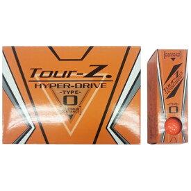 朝日ゴルフ用品 ASAHI GOLF 【ビックカメラグループオリジナル】ゴルフボール Tour-Z. HYPER-DRIVE -TYPE- O オレンジ TZHDBC1408 [12球(1ダース) /ディスタンス系]