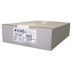 エーワン A-one パソコンプリンタ&ワープロラベルシール プリンタ兼用 NEC文豪シリーズタイプ3列用 ホワイト 28728 [A4 /500シート /18面 /マット]【rb_mmme】