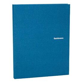 セキセイ SEKISEI レミニッセンス ミニポケットアルバム ブルー (Lサイズ 80枚) XP-80M-BU[XP80M]