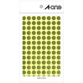 エーワン A-one カラーラベル 金 07011 [8シート /104面 /光沢]【aoneC2009】