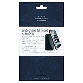 パワーサポート POWER SUPPORT iPhone 3G用 液晶保護パッド アンチグレアフィルムセット for iPhone 3G (2枚入り) PPC02