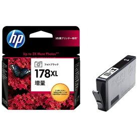 HP エイチピー CB322HJ 純正プリンターインク 178XL フォトブラック[CB322HJ]【wtcomo】