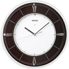 セイコー SEIKO 掛け時計 【スタンダード】 濃茶木地 KX321B [電波自動受信機能有]
