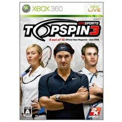 ディースリー・パブリッシャー D3 PUBLISHER Top Spin3【Xbox360ゲームソフト】[TOPSPIN3]