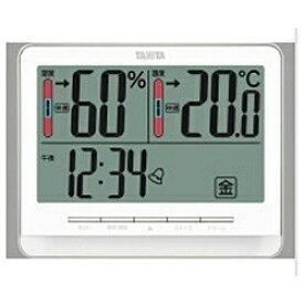 タニタ TANITA TT-538 温湿度計 ホワイト [デジタル][TT538WH]