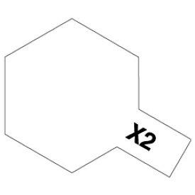 タミヤ TAMIYA タミヤカラー アクリルミニ X-2 ホワイト【rb_pcp】