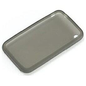 パワーサポート POWER SUPPORT iPhone 3G用 シリコーンジャケットセット(クリアブラック) PPK13