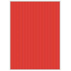 ヒサゴ HISAGO リップルボード[薄口/クラフトペーパー](A4サイズ:3シート/レッド) RBU07A4[RBU07A4]