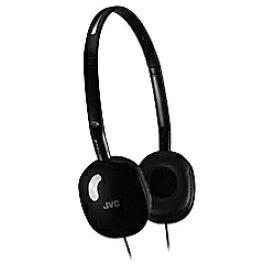 JVC ジェイブイシー ヘッドホン HA-S160-B ブラック [φ3.5mm ミニプラグ][HAS160B]