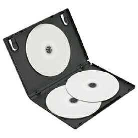 ロアス LOAS DVDケース 2枚収納×3 ブラック DVD-NA005-3BK[DVDNA0053BK]