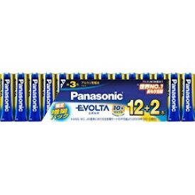 パナソニック Panasonic LR6EJSP/14S LR6EJSP/14S 単3電池 EVOLTA(エボルタ) [14本 /アルカリ][LR6EJSP14S] panasonic
