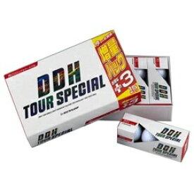 ダンロップ DUNLOP ゴルフボール DDH TOUR SPECIAL ホワイト DDHTS2LP15 [15球 /ディスタンス系]【オウンネーム非対応】