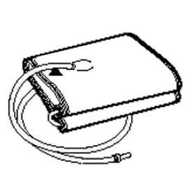 オムロン OMRON 血圧計用腕帯 HEM-CUFF-R24GY[HEMCUFFR24GY]