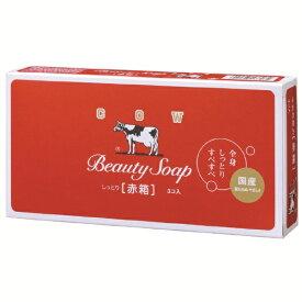 牛乳石鹸共進社 COW BRAND SOAP KYOSHINSHA カウブランド 牛乳石鹸 赤箱 (100g×3個入)【rb_pcp】