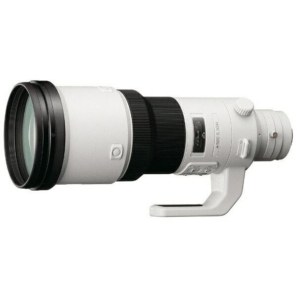 ソニー SONY カメラレンズ 500mm F4 G SSM【ソニーA(α)マウント】[SAL500F40G]