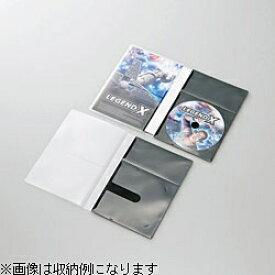 エレコム ELECOM CD/DVD用スリム収納ソフトケース トールケースサイズ 1枚収納×30 ブラック CCD-DPD30BK[CCDDPD30BK]【rb_pcp】