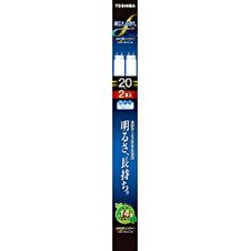 東芝 TOSHIBA FL20SS-EDC/18LL-2PN 直管形蛍光灯 メロウZ ロングライフ Clear-DayLight色 [昼光色][FL20SSEDC18LL2PN]