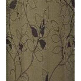 東京シンコール TOKYO SINCOL 2枚組 ドレープカーテン モダンフラワー(100×135cm/ブラウン)[902121]