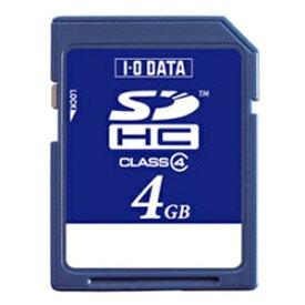 I-O DATA アイ・オー・データ SDHCカード SDH-Wシリーズ SDH-W4G [4GB /Class4][SDHW4G]