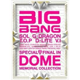 エイベックス・エンタテインメント Avex Entertainment BIGBANG/SPECIAL FINAL IN DOME MEMORIAL COLLECTION(CD+DVD) 【CD】