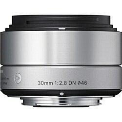 【送料無料】 シグマ 交換レンズ 30mm F2.8 DN【マイクロフォーサーズマウント】(シルバー)