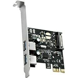 AREA(エアリア) USB3.0(2ポート)増設用 PCI Expressボード SD-PEU3R-2EL2[SDPEU3R2EL2]