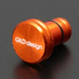 GILD design ギルドデザイン 〔イヤホンジャックアクセサリー〕 New earphone jack cover オレンジ GA-200OR[GA200OR]