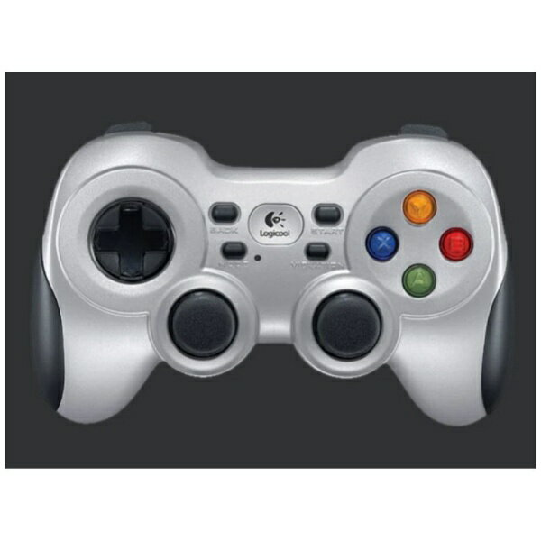 ロジクール ワイヤレスゲームパッド Logicool F710 Wireless Gamepad (シルバー) F710r