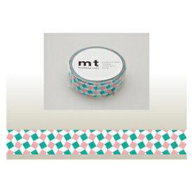 カモ井加工紙 KAMOI mt マスキングテープ(スクエア・ピンク) MT01D179