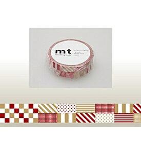 カモ井加工紙 KAMOI mt マスキングテープ(ミックス・レッド) MT01D121
