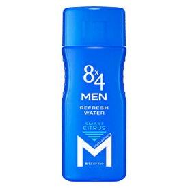 花王 Kao 8×4(エイトフォー)メン リフレッシュウォーター スマートシトラスの香り 160ml(男性化粧品)〔デオドラント〕【rb_pcp】