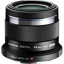 オリンパス OLYMPUS カメラレンズ 45mm F1.8 M.ZUIKO DIGITAL(ズイコーデジタル) ブラック [マイクロフォーサーズ /単焦点レンズ][45MMF1.8BLK]