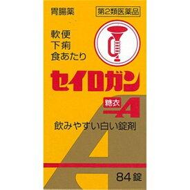 【第2類医薬品】 セイロガン糖衣A(84錠)〔下痢止め〕【wtmedi】大幸薬品