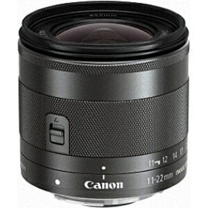 【送料無料】 キヤノン CANON 【スマホエントリーでポイント10倍 8/15 23:59まで】カメラレンズ EF-M11-22mm F4-5.6 IS STM【キヤノンEF-Mマウント】[EFM1122ISSTM]