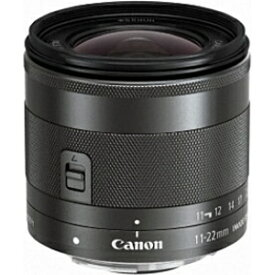 キヤノン CANON カメラレンズ EF-M11-22mm F4-5.6 IS STM ブラック [キヤノンEF-M /ズームレンズ][EFM1122ISSTM]