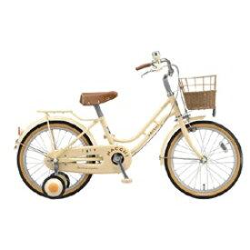 ブリヂストン BRIDGESTONE 18型 幼児用自転車 ハッチ(アイボリー)HC182[HC182]【組立商品につき返品不可】 【代金引換配送不可】