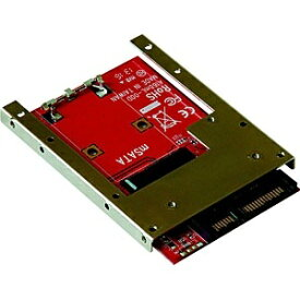 玄人志向 mSATA SSD → 2.5型SATA SSD 変換基板 KRHK-MSATA/S7【バルク品】 [KRHKMSATAS7]