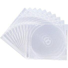 サンワサプライ SANWA SUPPLY Blu-ray/DVD/CD対応スリム収納ケース 1枚収納×10 クリア FCD-PU10C[FCDPU10C]
