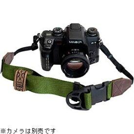 DIAGNL ニンジャ カメラストラップ 38mm(レザー オリーブ)