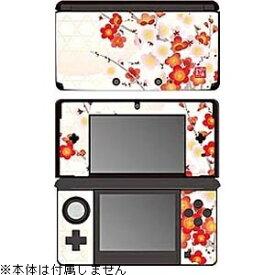 ゲームテック GAMETECH 彩装飾シート 紅梅【3DS】