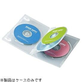 サンワサプライ SANWA SUPPLY Blu-ray/DVD/CD対応トールケース 4枚収納×3 クリア DVD-TN4-03C[DVDTN403C]