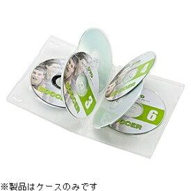 サンワサプライ SANWA SUPPLY Blu-ray/DVD/CD対応トールケース 6枚収容×3 クリア DVD-TN6-03C[DVDTN603C]
