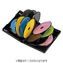 サンワサプライ CD/DVD/Blu-ray対応収納トールケース (12枚収納×3セット・ブラック) DVD-TW12-03BK[DVDTW1203BK]