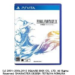 スクウェアエニックス SQUARE ENIX FINAL FANTASY X HD Remaster 【PS Vitaゲームソフト】[F.F.XHDREMASTER]