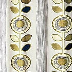 スミノエ SUMINOE ドレープカーテン サンフラワー(100×200cm/アイボリー)【日本製】[V1210100X200]