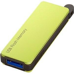 BUFFALO USB3.0メモリ RUF3-PWシリーズ (16GB・グリーン) RUF3-PW16G-GR[RUF3PW16GGR]