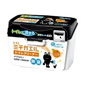 大王製紙 Daio Paper elleair(エリエール) ミチガエル トイレクリーナー 本体 10枚入〔トイレ用洗剤〕【rb_pcp】